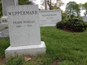 Frank Morgan (Wuppermann) in Green-Wood Cemetery.