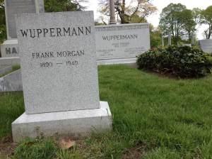 Frank Morgan (Wuppermann) in Green-Wood Cemetery.