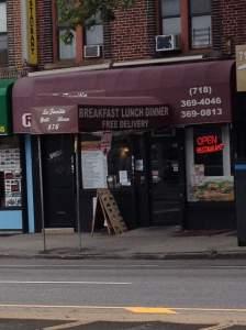 Restaurant Review: La Familia Restaurant in South Brooklyn