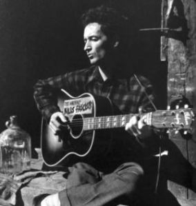 "Even Woody Guthrie's cell phone might read, ""This machine bores people."""