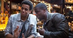 Michael Ealy and Kevin Hart.
