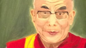 The Dalai Lama, by George W. Bush.