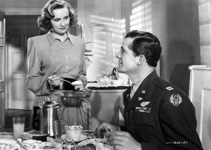 Teresa Wright and Dana Andrews.