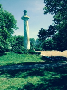 June 1, 2014, The Prison Ship Martyrs monument in Fort Greene Park, Brooklyn...