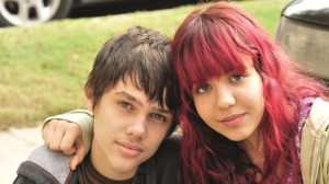 "Ellar Coltrane and Lorelei Linklater in Richard Linklater's ""Boyhood."""