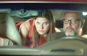Lake Bell (Carol) with the sexiest man in America Fred Melamed (Sam).