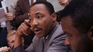 Dr. Martin Luther King in Birmingham, AL.