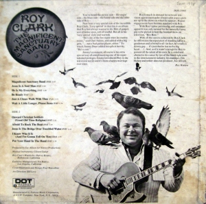 "Yet more birds!  Roy Clark's 1971 gospel concept album, ""The Magnificent Sanctuary Band."""