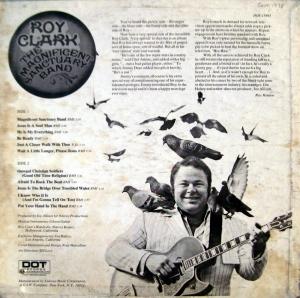 """Yet more birds!  Roy Clark's 1971 gospel concept album, """"The Magnificent Sanctuary Band."""""""