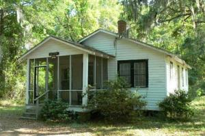 The Gantt Cottage at Penn Center, South Carolina.