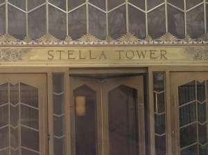 ...right in front of Stella Tower.